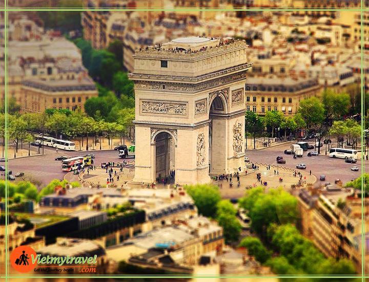 PARIS-tour 5 nước châu âu