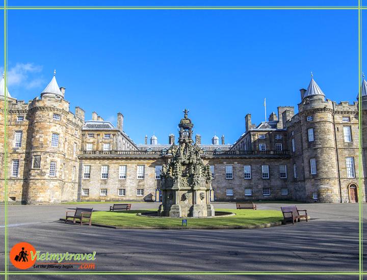 lâu đài Edinburgh - Du lịch việt mỹ