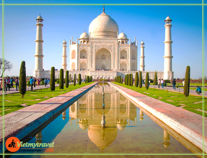 Đền Taj Mahal Ấn Độ