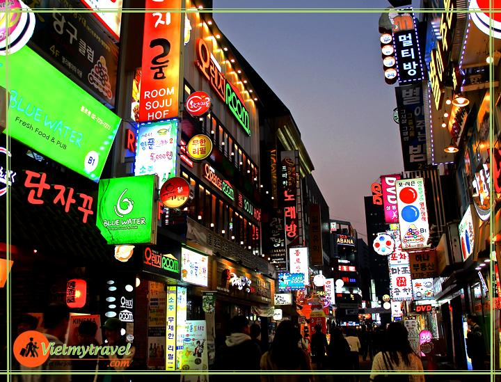 chợ Myeongdong