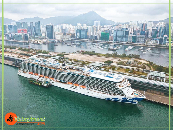 Tour Du Thuyền 5 Sao Đài Loan – Nhật Bản – Majestic Princess