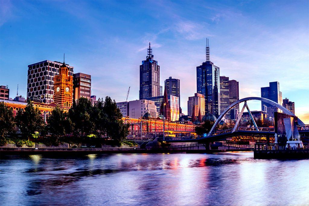 Những điểm du lịch hấp dẫn ở Úc ? Thành phố Melbourne