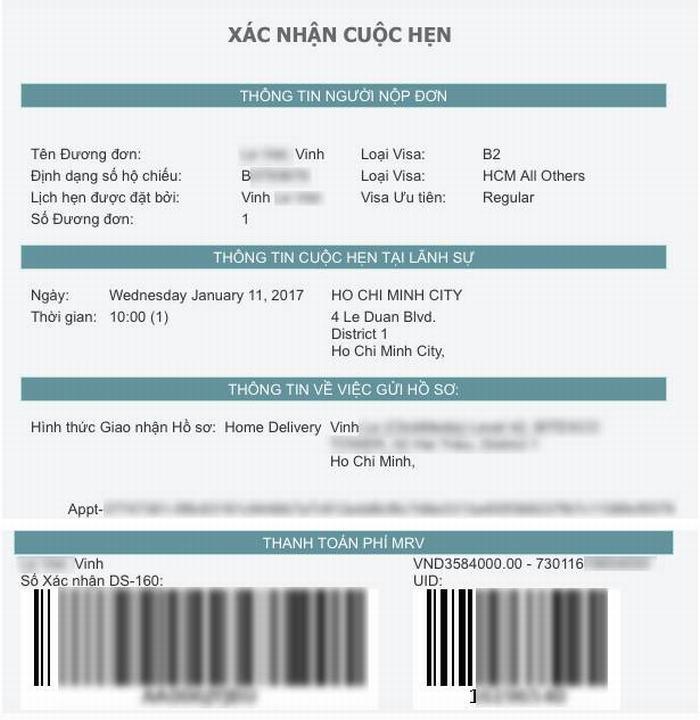 hướng dẫn xin visa mỹ - Du Lịch Việt Mỹ