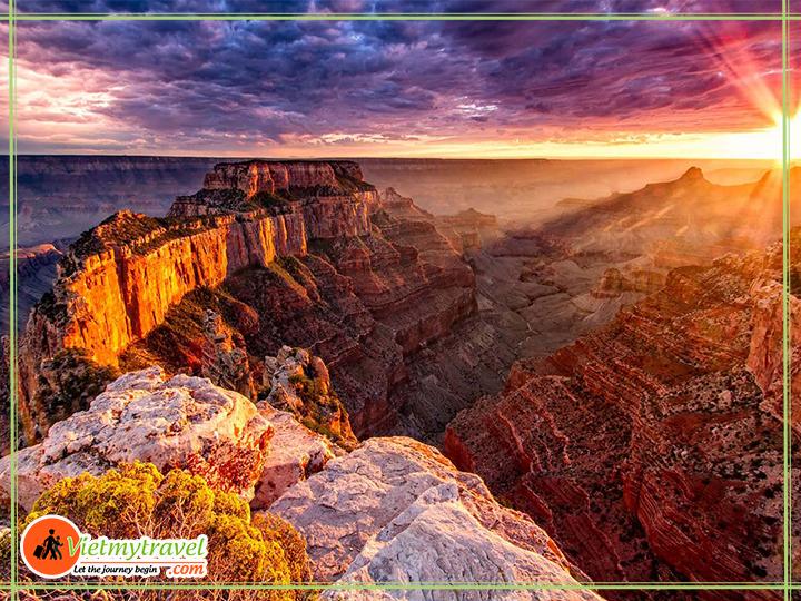Du lịch Hoa Kỳ Tết 2019 Grand Canyon