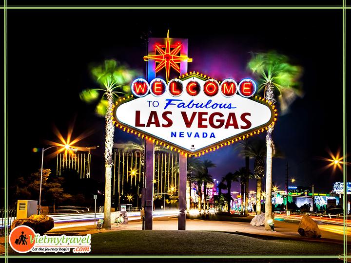 Tour du lịch Mỹ liên tuyến Đông Tây - Thành phố Las Vegas.