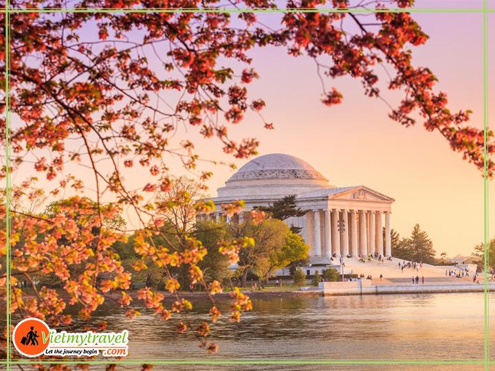 Đài tưởng niệm Jefferson - Tour Mỹ