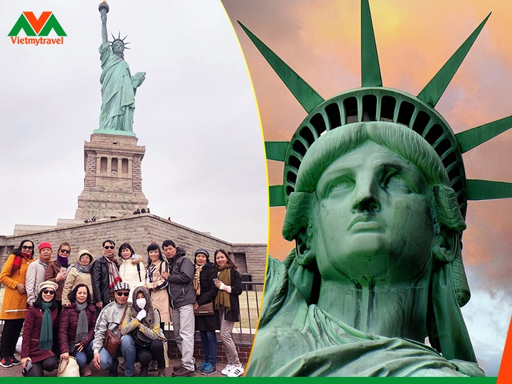 Liberty Enlightening the World - Vietmytravel