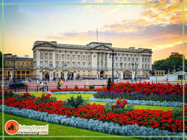 Du lịch Anh quốc - Cung điện Buckingham