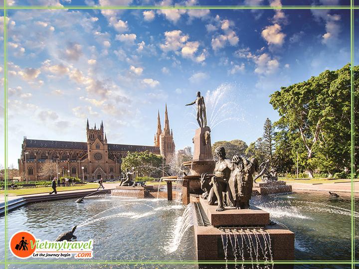 Du lịch Anh quốc - Công viên hoàng gia London.