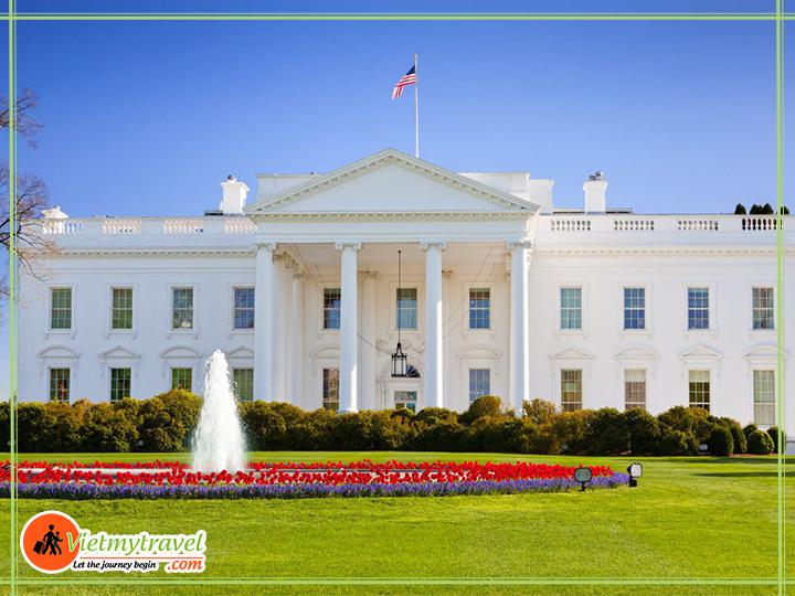 Tour du lịch Mỹ liên tuyến Đông Tây - Nhà trắng - biệt phủ quyền lực nhất Hoa Kỳ.