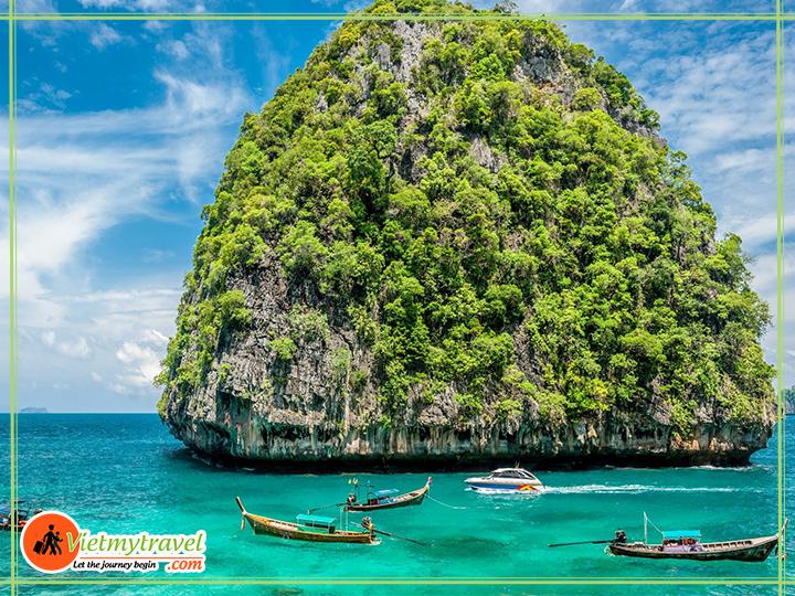 Du lịch Phuket Thái Lan - Vịnh Loh Samah