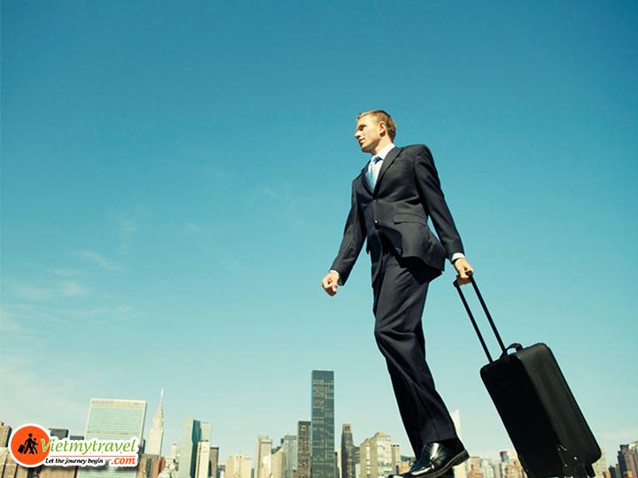 Xin visa úc theo diện đi công tác.