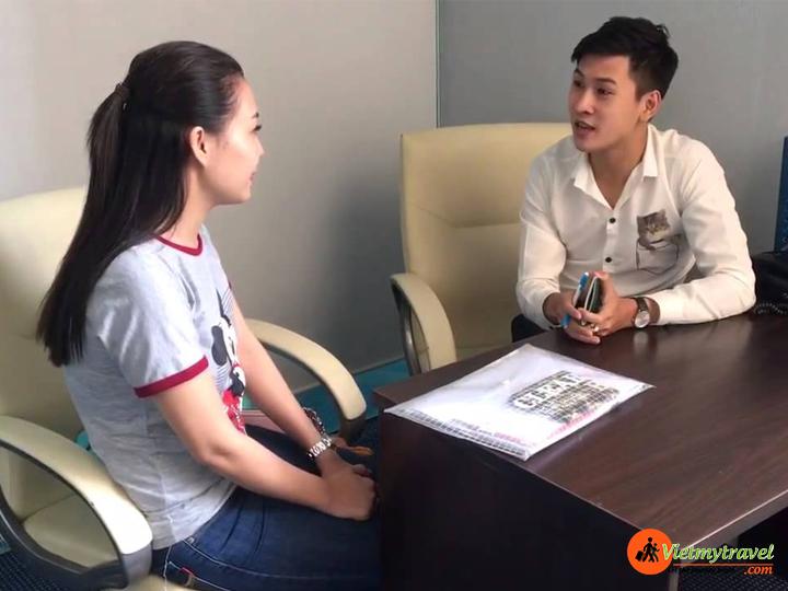 Dịch vụ làm Visa Mỹ tại Vietmytravel miễn phí 2 - 3 buổi phỏng vấn thử.