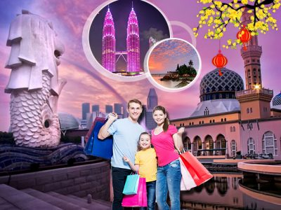 Tour Singapore - Malaysia - Indonesia
