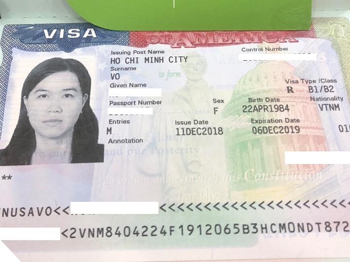 Trẻ tuổi vẫn đậu Visa du lịch Mỹ B1/B2.