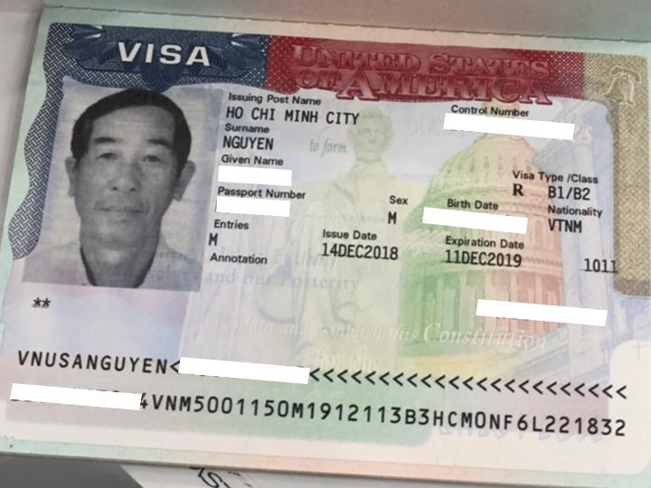 Đến Vietmytravel, hồ sơ vẫn đậu Visa Mỹ.