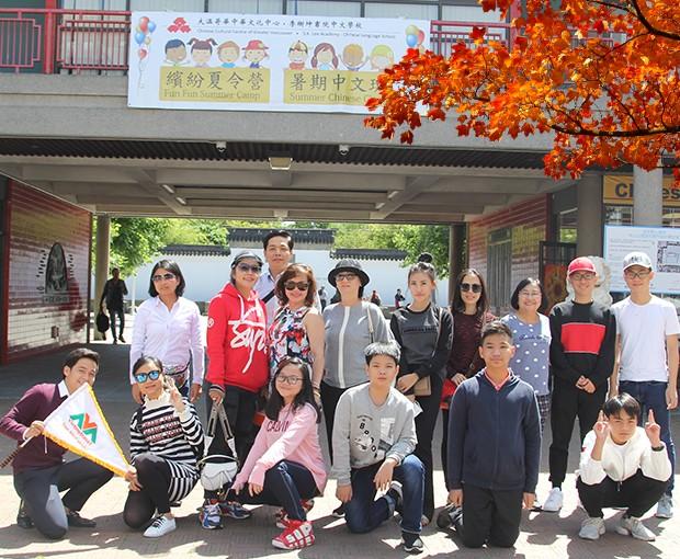 Đoàn Du Lịch Canada Cty Du Lịch Việt Mỹ ( Vietmytravel) ngày 23/07/2019