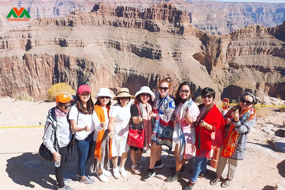 Grand Canyon- khách du lịch mỹ-vietmytravel
